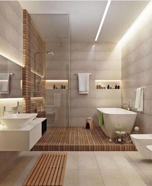 Modern Bathroom Wall Decor Ideas