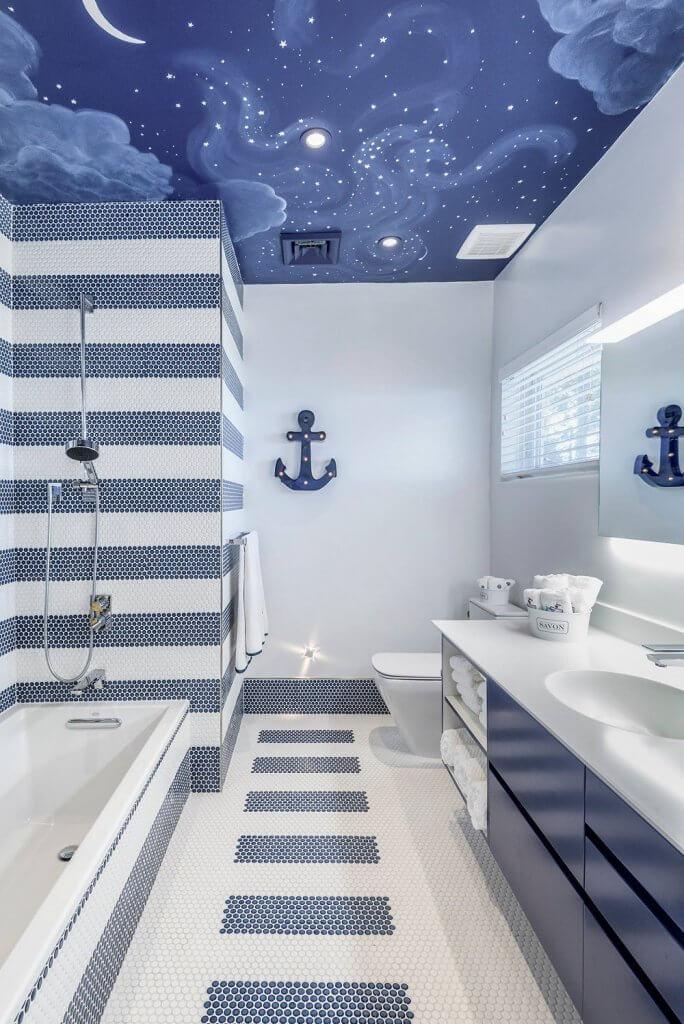 Nautical Bathroom Wall Decor Ideas
