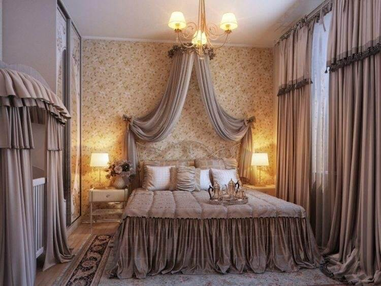 Curtains for Master Bedroom Wall Decor