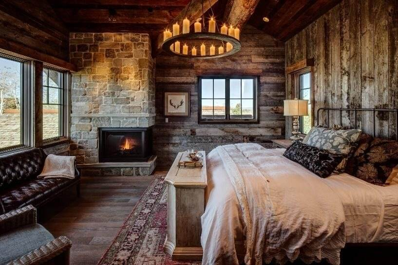 Designing Your Master Bedroom Wall in Rustic Vibe