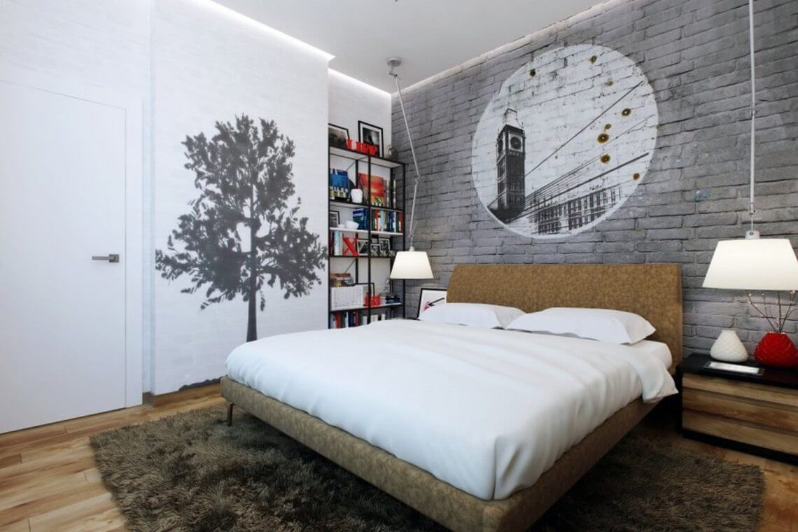 Small Master Bedroom Decoration