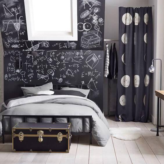 Get the School Chalkboard Look in Your Teen's Bedroom