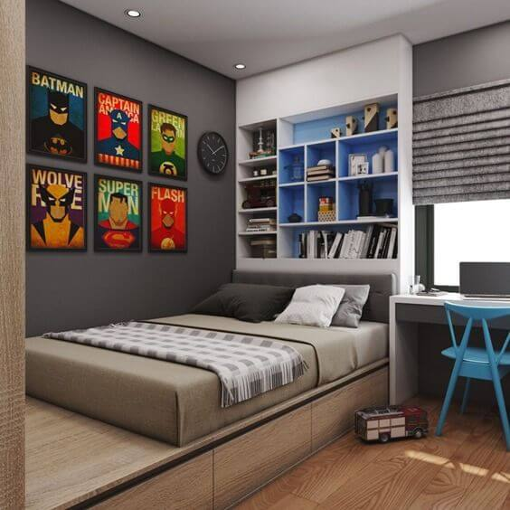 Reduce Clutter with Over-the-Bed Storage