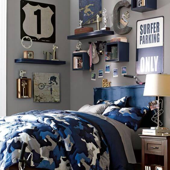 Add a Camouflage Bedding Set