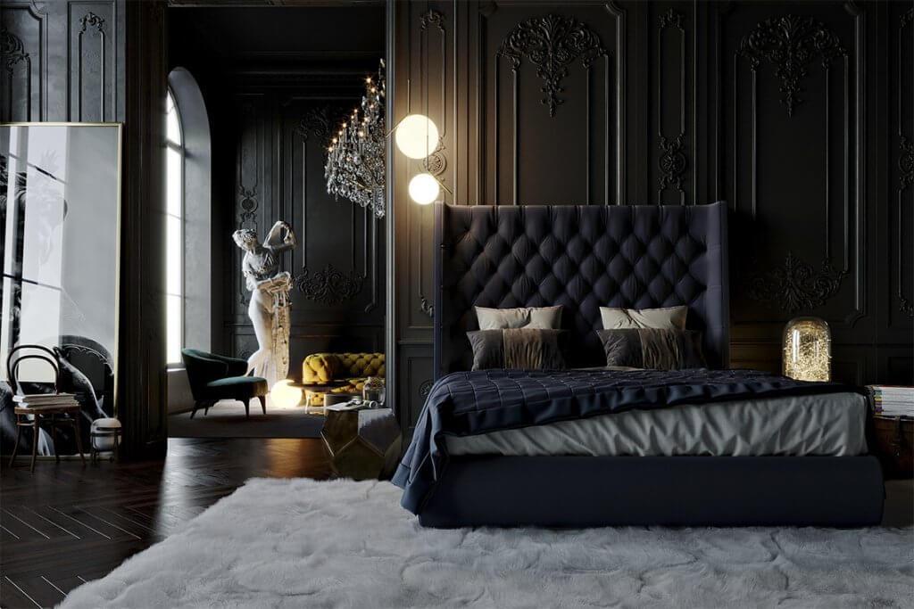 22+ Impressive Men's Bedroom Ideas