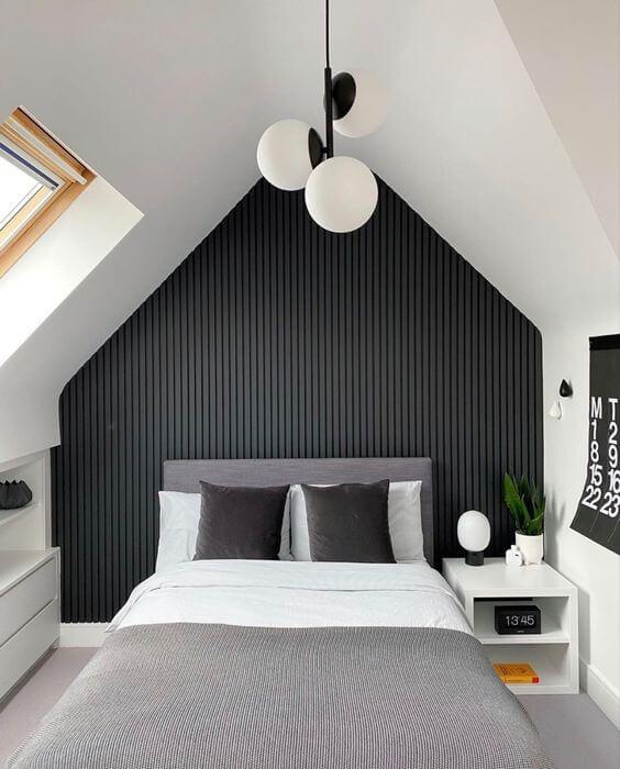 Monochrome Teen Boy Bedroom Design