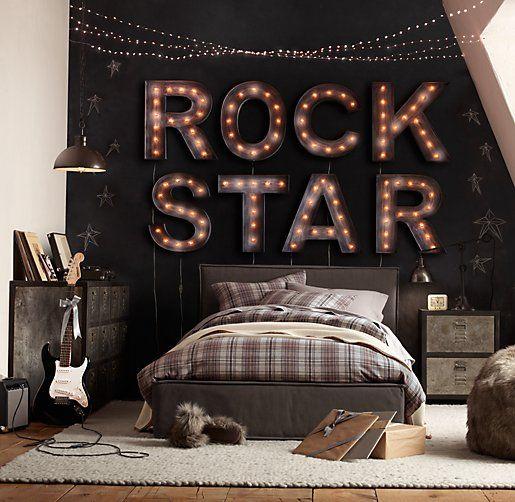 Bedroom Ideas for Your Rock Star Teenage Boy