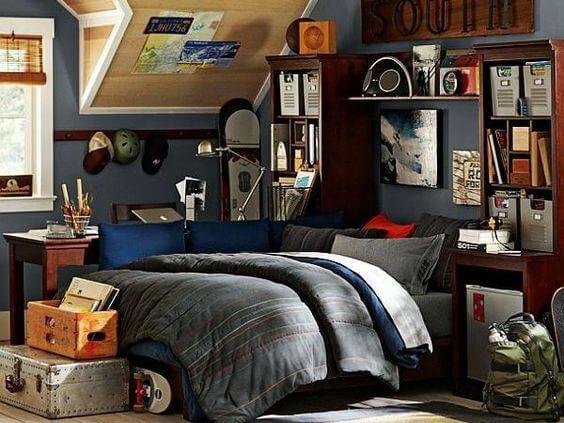 Classic Teen Boy Bedroom Ideas