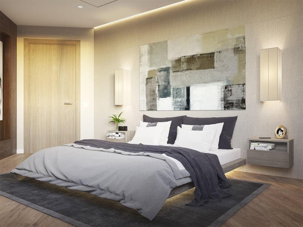 28+ Beautiful Bedroom Lighting Ideas That Brighten Up Your Sleeping Space in 2021