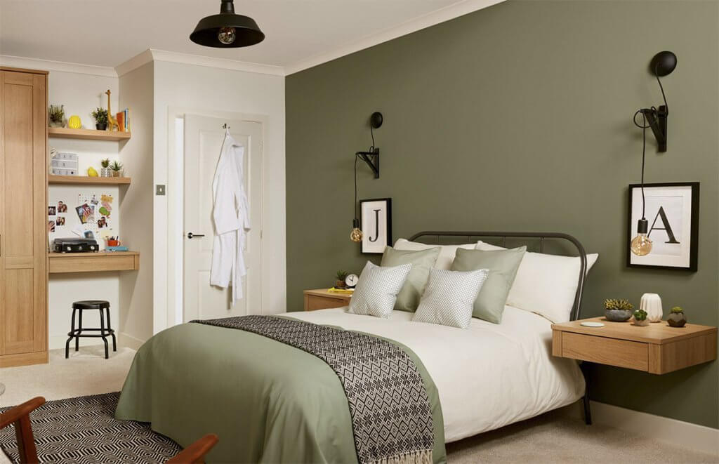 27+ Green Bedroom Ideas To Help You Transform Your Sleeping Space.