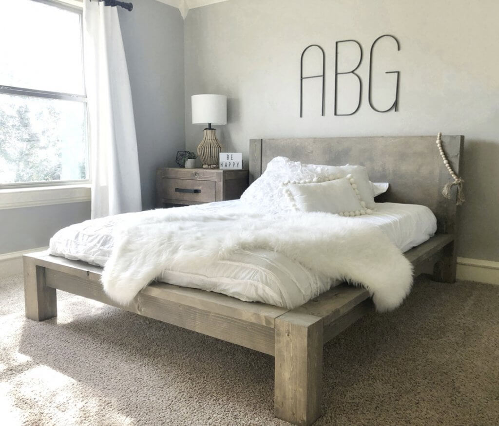 DIY Bed Frame To Personalize Your Bedroom 2021