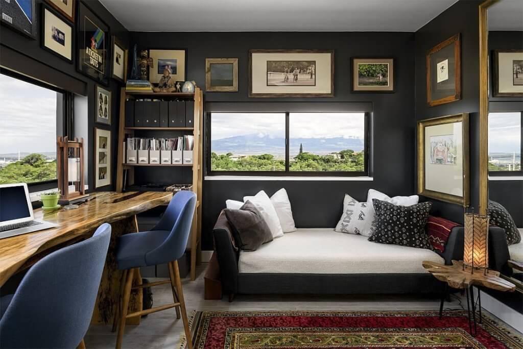 21+ Amazing Bedroom Office Ideas in 2021