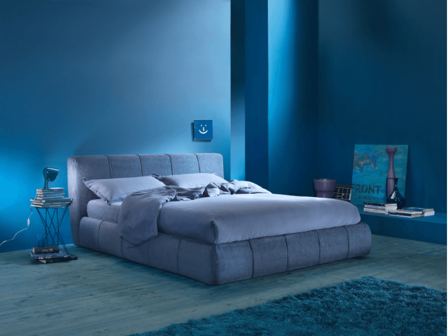 All Blue Color for Your Bedroom