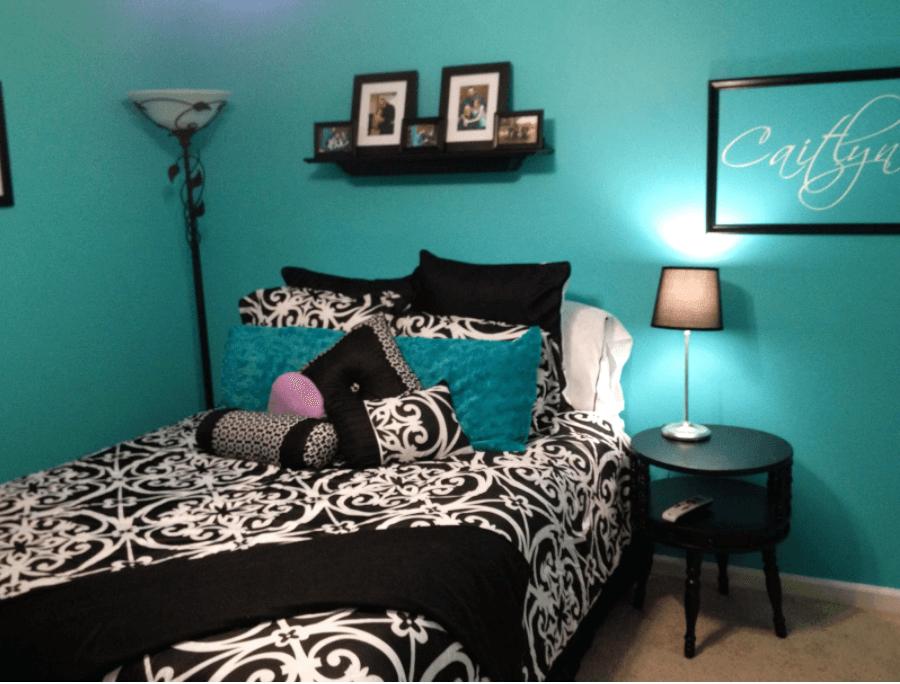 Blue and Black Design Ideas for Your Bedroom