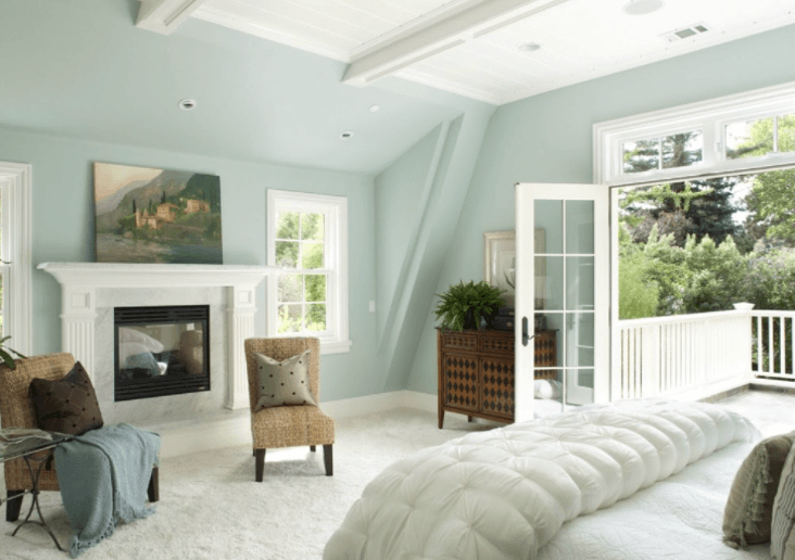 A Pastel Blue is Restful for Your Bedroom