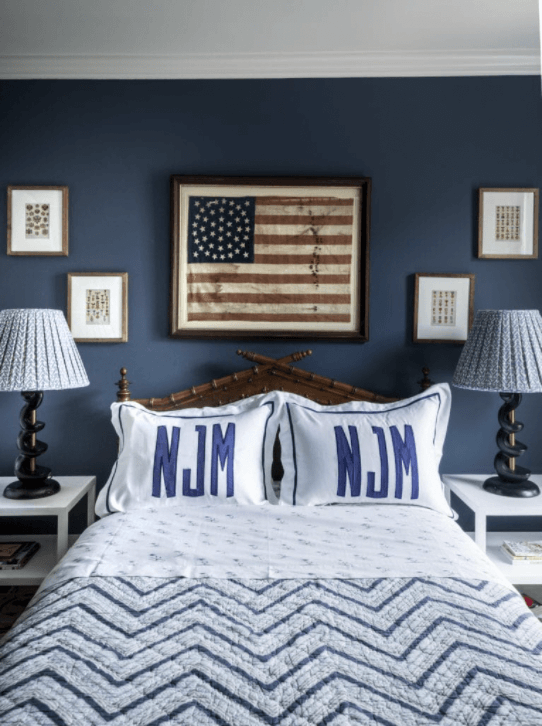 American Blue for the Perfect Backdrop