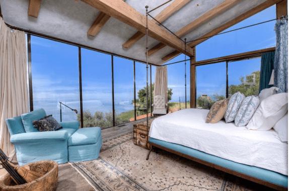 Mediterranean Blue Bedroom Ideas