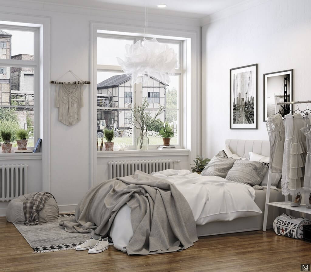 Scandinavian Bedroom Ideas That Will Transport You to the Land of Hygge Right Away (2021)