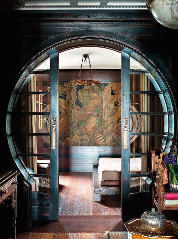 Circular Sliding Door