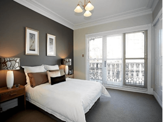 Try A Beautiful Contrast Bedroom with Black and White