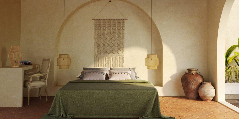 Thai Inspired Bedroom Decor