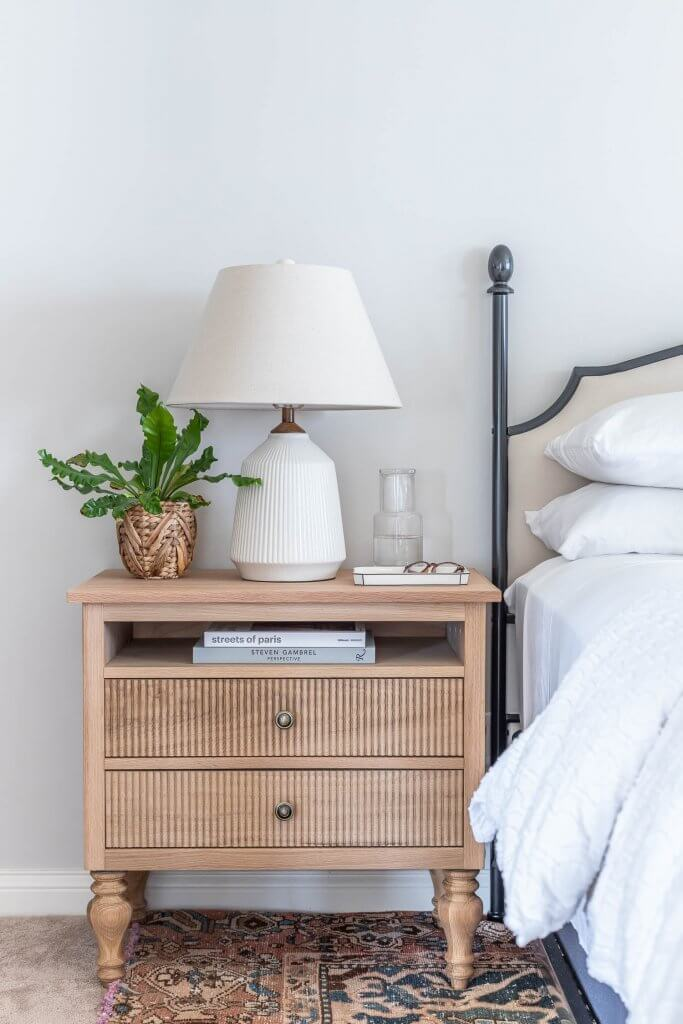 DIY French country-style nightstand