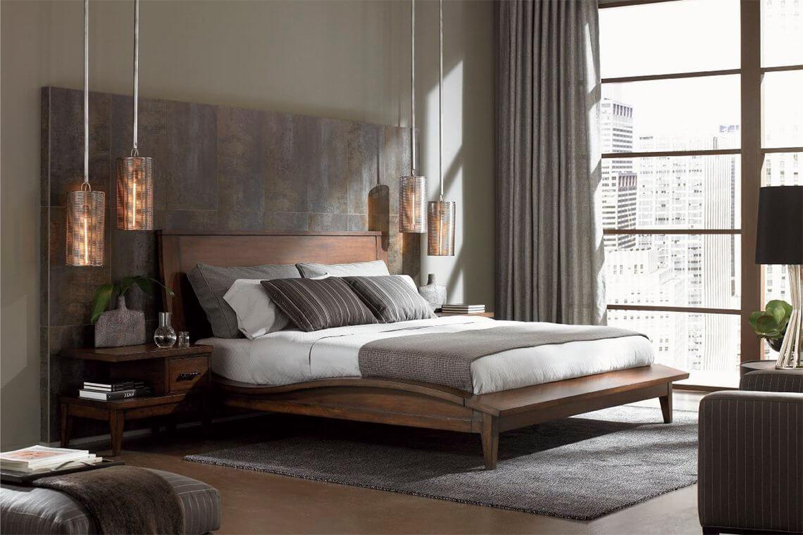 bedroom pendant light ideas